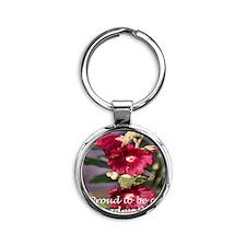 IMG_3930[1] edone copytwo Round Keychain