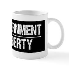 Less-Govt-More-Liberty-(black) Mug