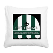 CDM-Logo-BW (7) Square Canvas Pillow