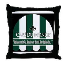 CDM-Logo-BW (7) Throw Pillow
