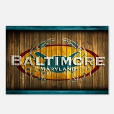 Baltimore Crab Postcards (Package of 8)