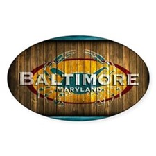 Baltimore Crab Decal