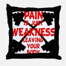 Pain 4 Throw Pillow