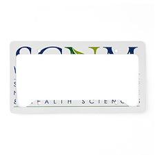 SCNM Logo (revised-small) License Plate Holder