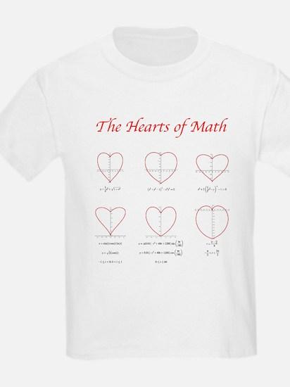 Hearts Curves Kids T-Shirt