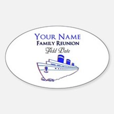 FAMILY REUNION CRUISE Decal