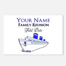 FAMILY REUNION CRUISE Postcards (Package of 8)
