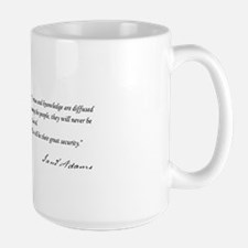 - If virtue and knowledge are diffused Large Mug
