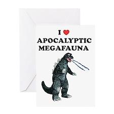 Apocalyptic Megafauna 02 Greeting Card