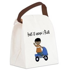 this how I roll ethnic Canvas Lunch Bag