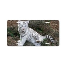 tiger2 Aluminum License Plate