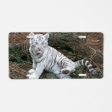 tiger2 Aluminum License Plate