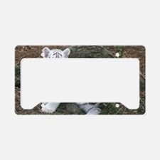 tiger2 License Plate Holder