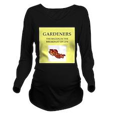 gardener Long Sleeve Maternity T-Shirt