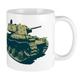 Tank Small Mugs (11 oz)