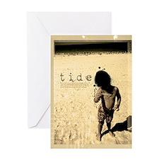 tide Greeting Card
