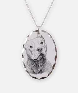 2-Doc Necklace Oval Charm