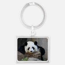 panda Landscape Keychain