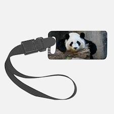 panda Luggage Tag