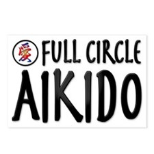 full circle aikido 1 Postcards (Package of 8)