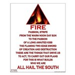 Fire Element Small Poster
