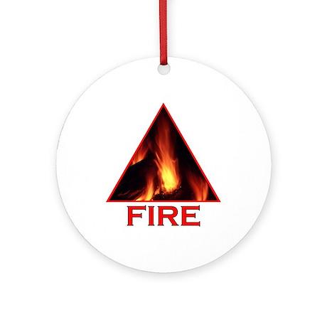 Fire Element Ornament (Round)