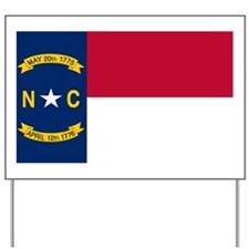 north-carolina-flag Yard Sign