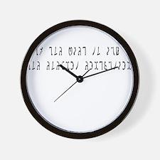 Ask Enochian Wall Clock