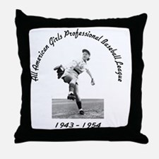 AAGPBL-Authentic Throw Pillow