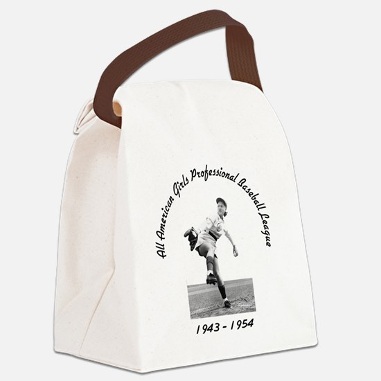 AAGPBL-Authentic Canvas Lunch Bag