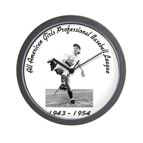 AAGPBL-Authentic Wall Clock