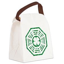 Green Dharma Canvas Lunch Bag