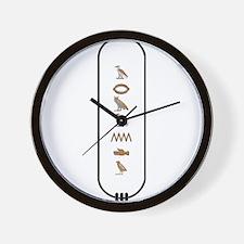 """Armando in Hieroglyphics """"Col Wall Clock"""