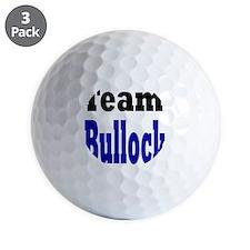 team bullock Golf Ball