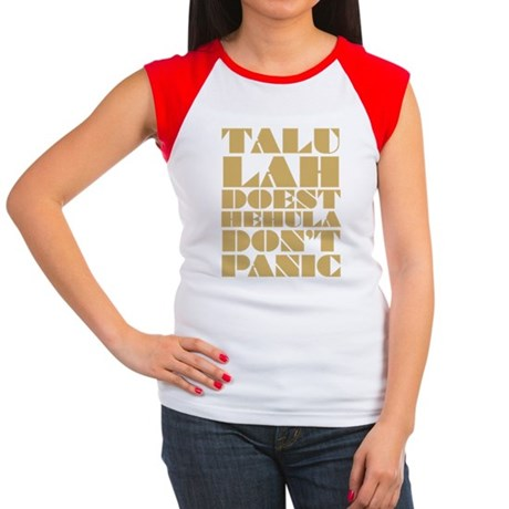 Talulah Gold Women's Cap Sleeve T-Shirt