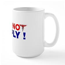 Will-not-comply-wht-bkgrnd Mug