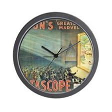 movie poster edison Wall Clock