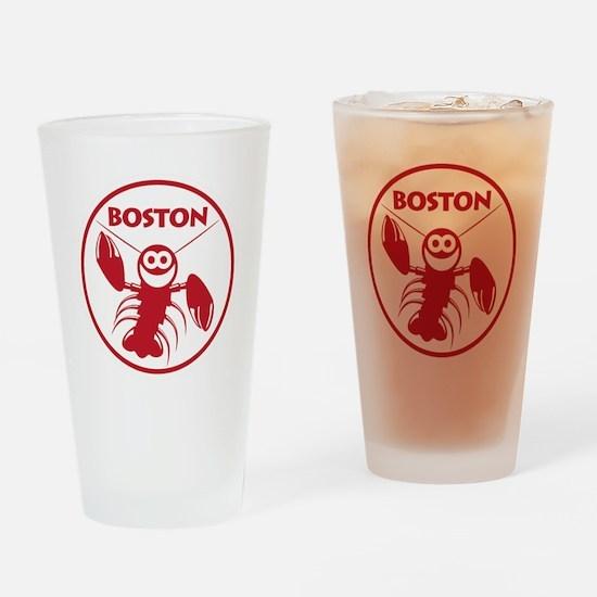 Boston Kids Lobster Drinking Glass