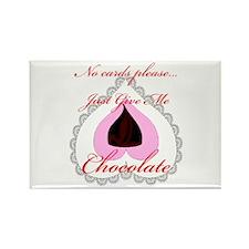 Valentine Chocolate Rectangle Magnet