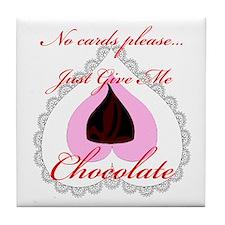 Valentine Chocolate Tile Coaster