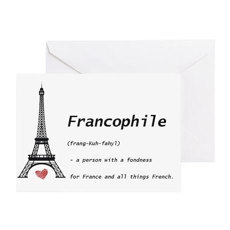 franc Greeting Card