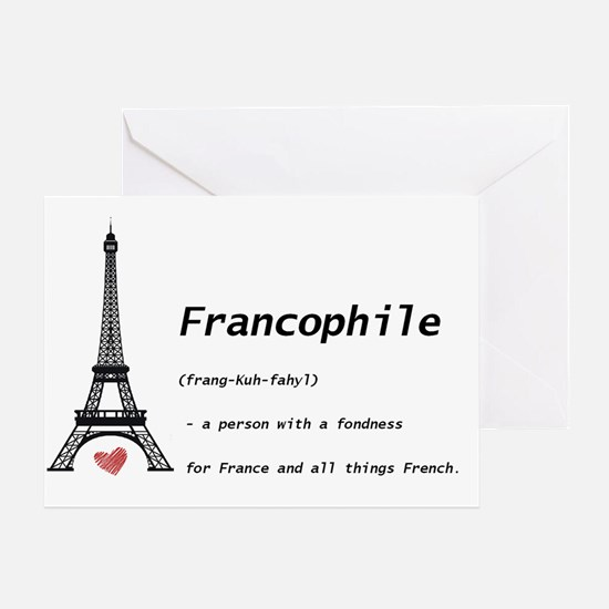 franc Greeting Card