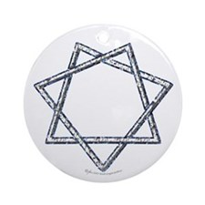 Septagram or Fairy Star Ornament (Round)