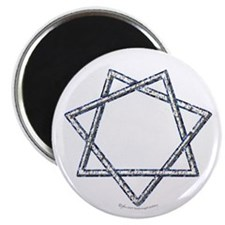 Septagram or Fairy Star Magnet