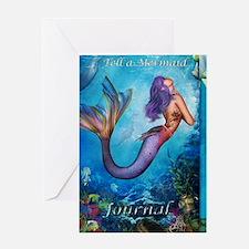 MermaidJournel3 Greeting Card