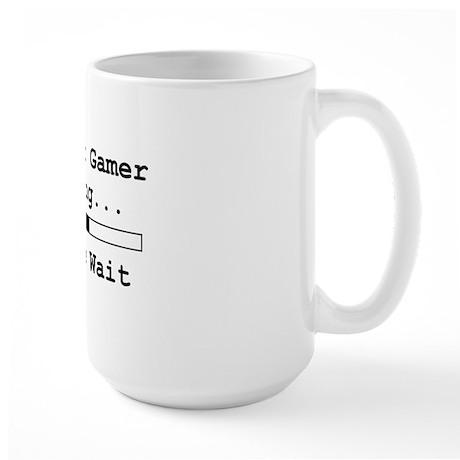 amateurgamerloadingpleasewait Large Mug