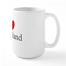 """""""I Love Greenland"""" Mug"""