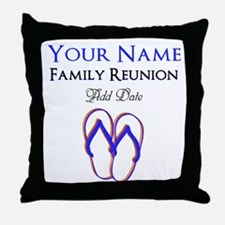 FUN FAMILY REUNION Throw Pillow