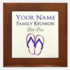 FUN FAMILY REUNION Framed Tile