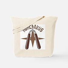 Nunchakus Tote Bag